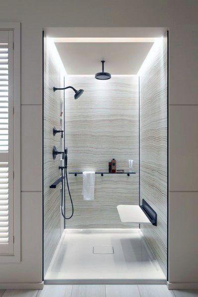 Top 50 Best Shower Lighting Ideas Bathroom Illumination In 2020