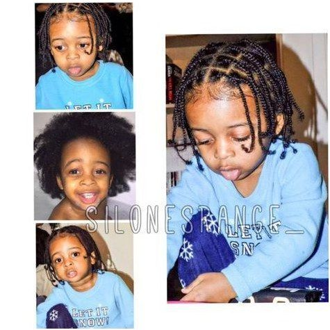 Hairstyle Braid How cute does this young man look with his