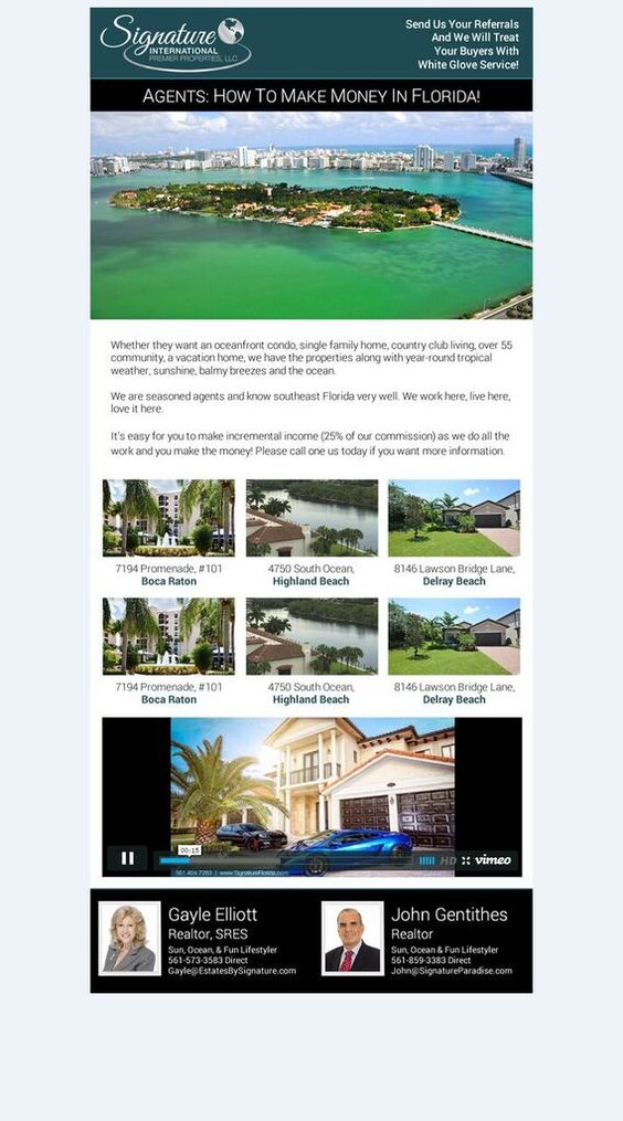 Check out our latest email flyer we created for Signature ...