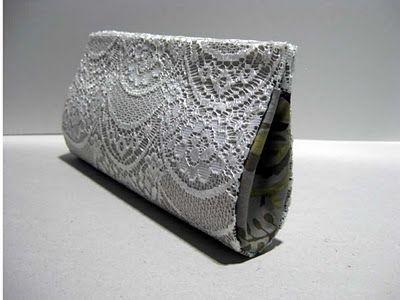 como hacer carteras y bolsos sin coser (cartonaje)