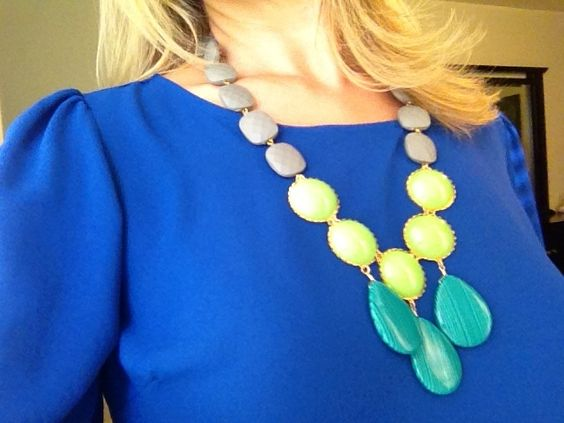 My newest necklace from Anthropologie.