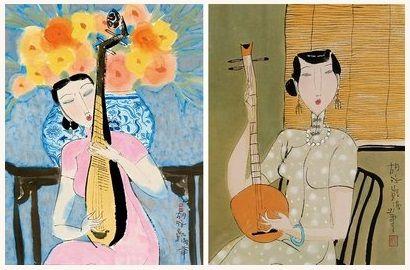 胡永凱-表達東方女士和中國古老的建築和花園的美麗, 浪漫懷舊,和農民鄉村生活節奏的作品(第一輯)。。。 - ☆平平.淡淡.也是真☆  - ☆☆。 平平。淡淡。也是真。☆☆ 。