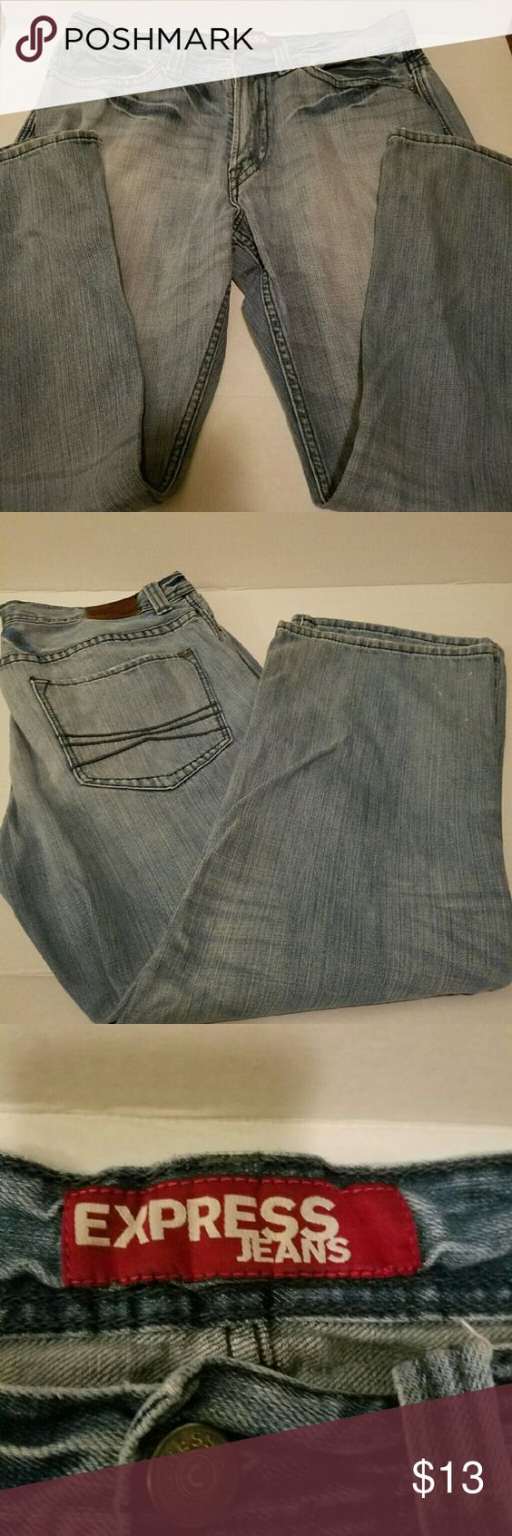 Express men jeans Preowned, good condition,  size 36 x 30 Express Jeans