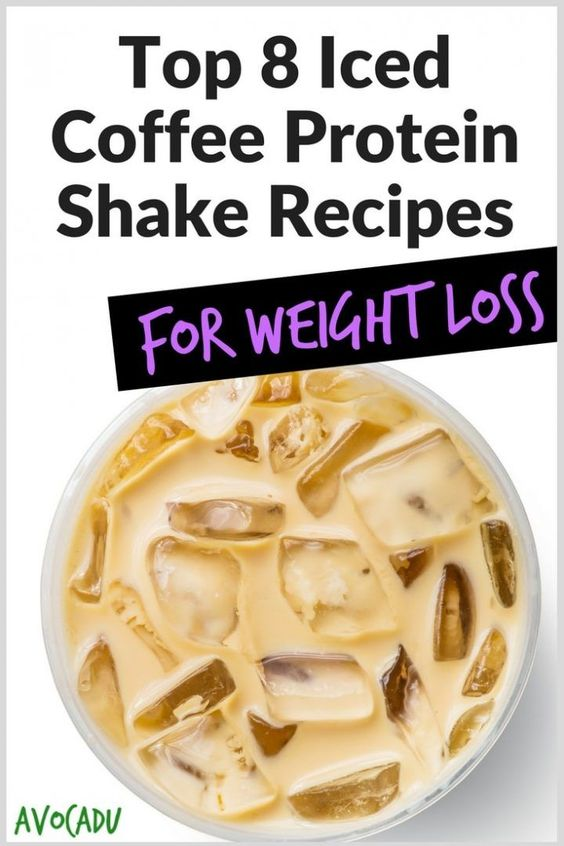 Top 8 Iced Coffee Protein Shake Recipes for Weight Loss | Avocadu