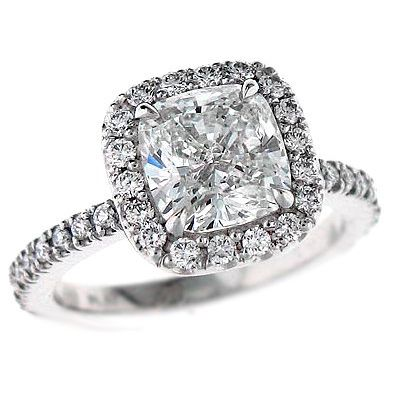PLEASSEE and thank you...halo cushion cut engagement ring!