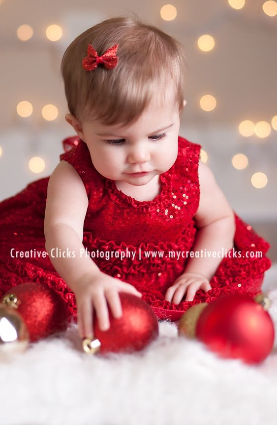 baby christmas picture ideas | Christmas photo idea | Baby ...