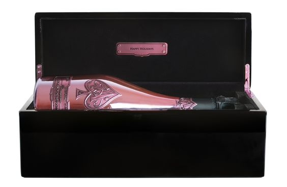 Armand de Brigand Champagne Rose - Jay Z's Armand de Brignac Champagne: A Personalized Holiday Gift