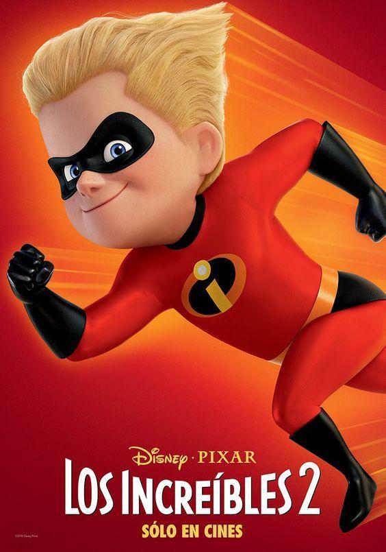 Los Increibles 2 Posters De Personajes Los Increibles Personajes Dash Los Increibles Increibles Pixar