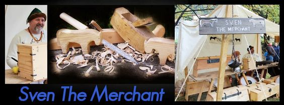 Historical replicas for re-enactors and the general public, plus other items made to order. https://sites.google.com/site/sventhemerchant/Home