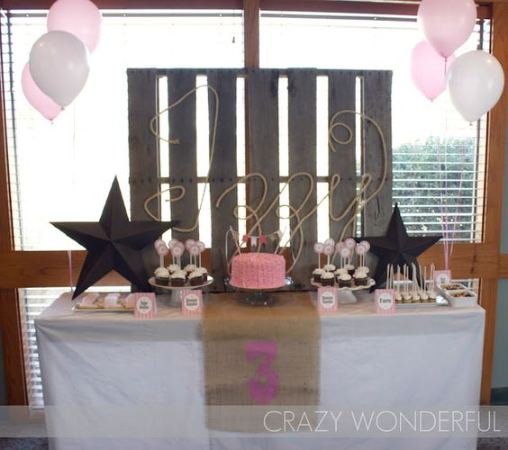 Cowgirl Chic Birthday Party