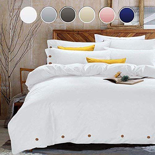 Nanko Duvet Cover Set Queen 3 Piece 1200 Tc Hotel Luxu Https Www Amazon Com Dp B074wns66h Ref Cm S Down Comforter King Duvet Cover Sets Cool Comforters