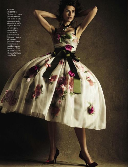 Mama Mia! | Bianca Balti | Giampaolo Sgura #photography | Vogue Spain October 2012