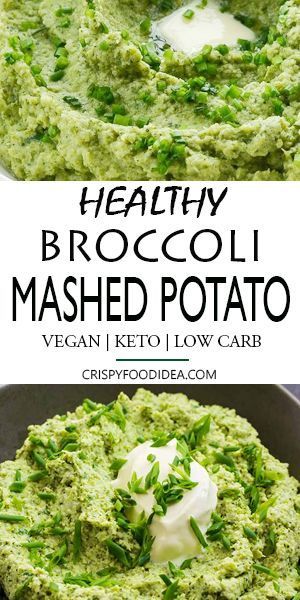 Keto Cauliflower Mashed Broccoli Potatoes