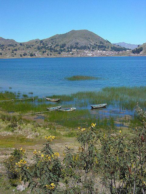 Lake Titicaca, Copacabana, Bolivia.  Photo: Adam Jones PhD - Global Photo Archive via flickr