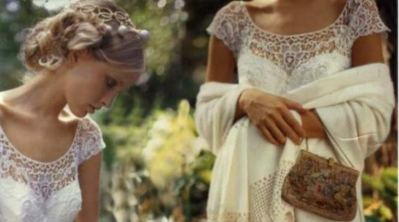 vestidos de novia a macrame - Buscar con Google