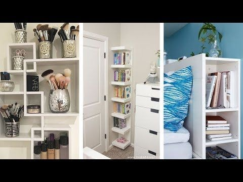 24 Super Cool Bedroom Storage Ideas That You Probably Never Considered Youtube Pinned 10 3 19 Bedroom Bedroom Storage Small Bedroom Storage Awesome Bedrooms