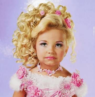 What is a clever title for a research paper discussing the exploitative nature of beauty pageants?