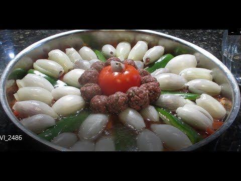 محشي ملفوف البصل طبق جديد فاخر ومبتكر من اكلات لبنان Cooking Recipes Arabic Food Cooking