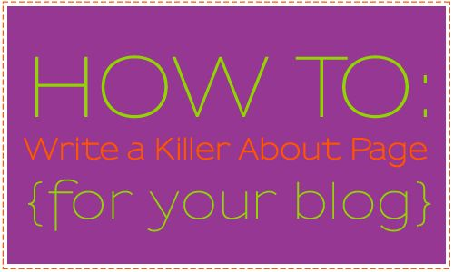 How to Write a Killer About Page for Your Blog via @JoLynneS