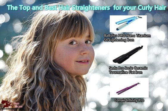 It is lovely when you have a head full of curly hair but if you want to try straightening it out for another style then you need to find the best hair straighteners for you.  Well, you are definitely lucky as we'll discuss the top flat irons for your natural or even not natural hair. http://www.simplyflatiron.com/best-hair-straighteners-for-curly-hair/ #BaByliss PRO Nano Titanium Straightening Iron #Sedu Pro Ionic Ceramic Tourmaline Flat Iron #Conair Infinity Pro