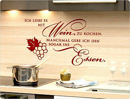 """I-love-Wandtattoo 11853 Wandtattoo Spruch """"Ich liebe es m…"""
