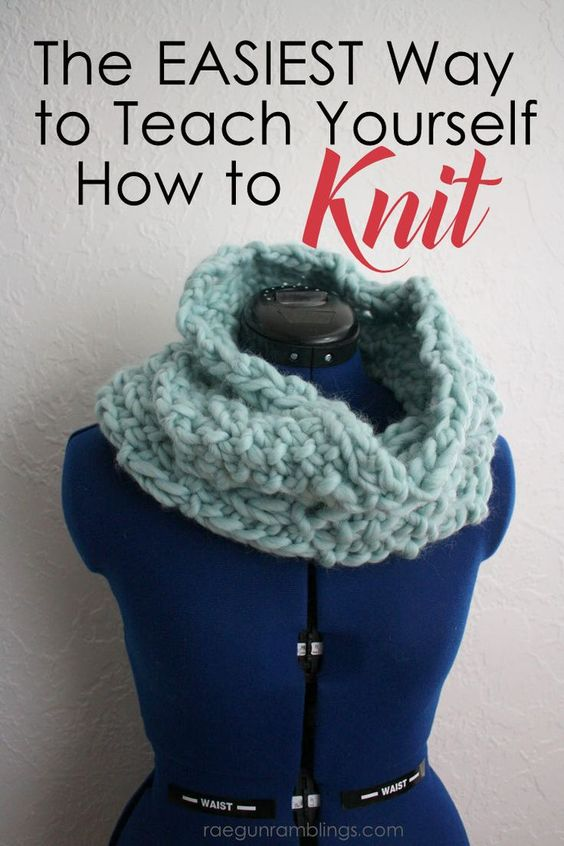 This is how I learned to knit (after trying other ways a few times).