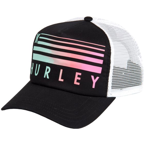 hurley womens sprinter trucker hat summer fashion