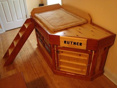 Indoor dog houses  Dog houses and Indoor on PinterestCustom indoor dog house   loft  Starting at