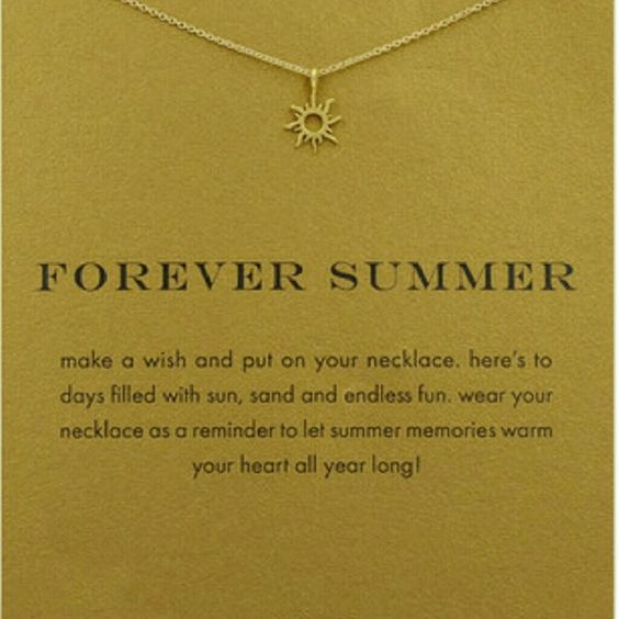 """Forever Summer Radiant Sun Necklace Gold Dipped Forever Summer Radiant Sun 16""""Reminder Necklace Dogeared Jewelry Necklaces"""
