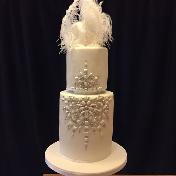 wedding cakes with jewels feathers and jewels wedding cake s artistic 26047