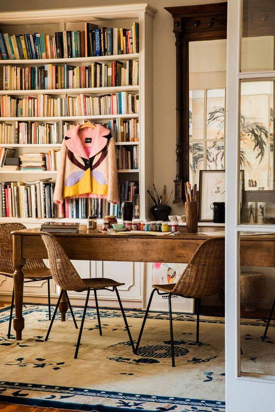 Un lugar para crear: la casa de Lydia Delgado en Barcelona © César Segarra