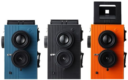 Blackbird, Fly camera: coolest looking and most affordable twin-reflex camera's ever!