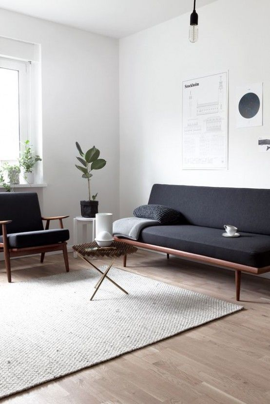 Check these mid-century and scandinavian living room ideas  |www.essentialhome.eu/blog