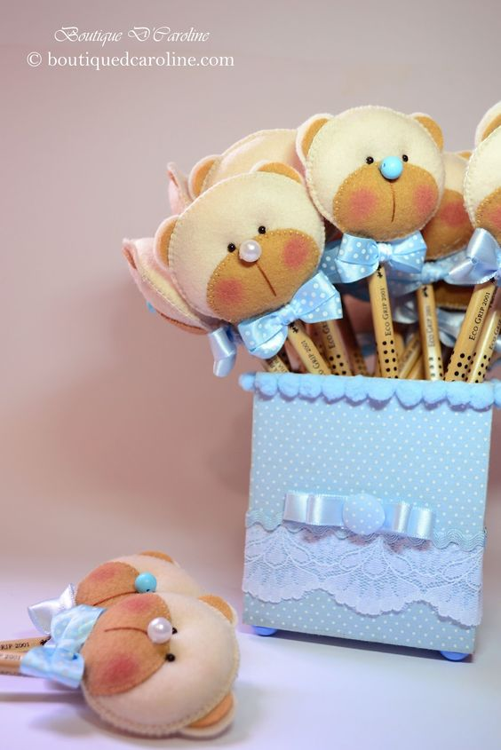 Atelier - Boutique D' Caroline: lápis decorado