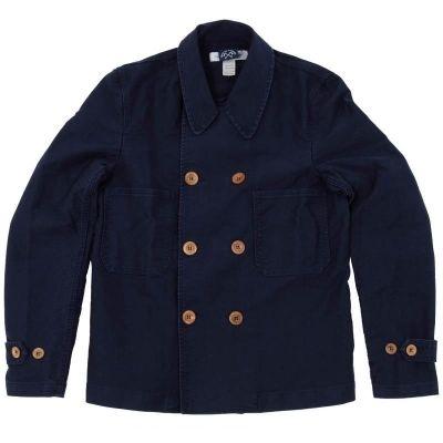 comme de garçons shirt x bleu de paname double breasted jacket