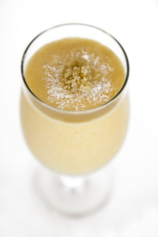 Tropical Quinoa Smoothie