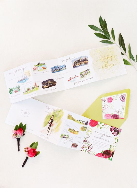 10 Creative Wedding Invitations & Unexpected Invite Ideas You'll Love