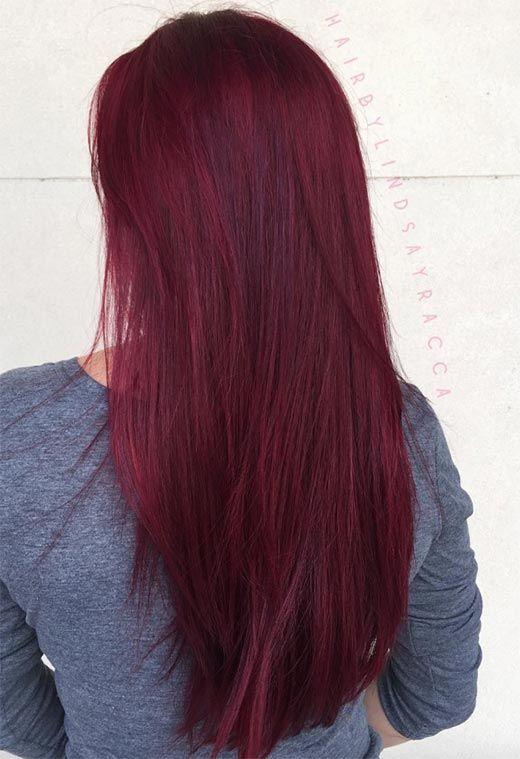 63 Yummy Burgundy Hair Color Ideas Burgundy Hair Dye Tips Tricks Hair Dye Tips Burgundy Hair Dye Maroon Hair Colors