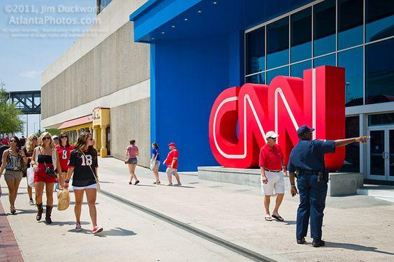 CNN Center entrance