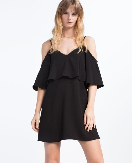 Image 2 of OFF-THE-SHOULDER DRESS from Zara: