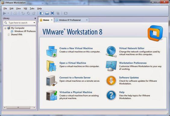 Using Vmware Workstation Vmware Workstation Internet Security Workstation