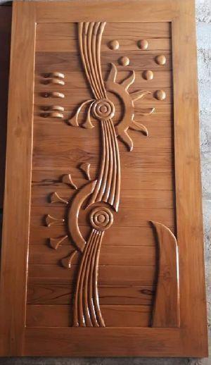 Teak Wood Modern Designer Doors Buy Teak Wood Modern Designer Doors For Best Price At Inr 10 K Piece S Approx Front Door Design Wood Wooden Main Door Design Door Design Wood