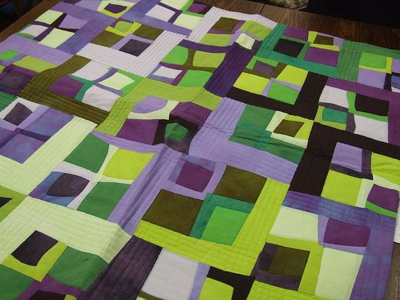modern quilt guild :: march 2011 by sew bee it, via Flickr