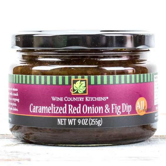 Our Caramelized Red Onion & Fig topping is a unique combination of flavor. Savory, yet subtly sweet! We simmer the freshest sweet California red onions and figs in real Italian balsamic vinegar with a