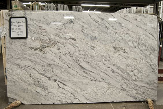 River White Granite Countertop River White Polished