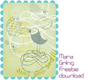 sing sing sing printable and more!