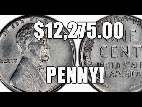 12 275 00 Penny Rare Valuable 1943 D Boldly Doubled Mintmark Steel Cent Rare Coins Worth Money Valuable Coins Coin Worth