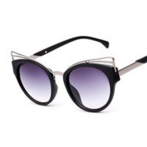 vintage top Cat eye sunglasses women