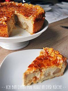 Ich bin dann mal kurz in der Küche: Die LISA Küchenflüsterin über die süßen Seiten des Lebens: Apfelkuchen mit Florentinerkruste