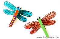 Step 8 Clothespin Dragonfly craft